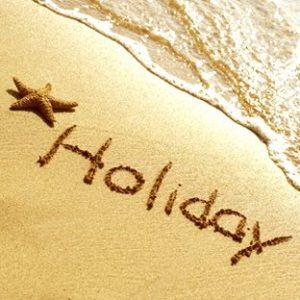 Holiday e holy day