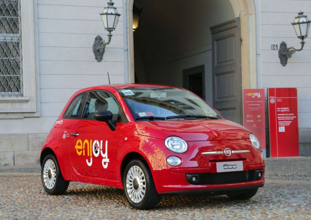 ENJOY IL CAR SHARING TUTTO ITALIANO
