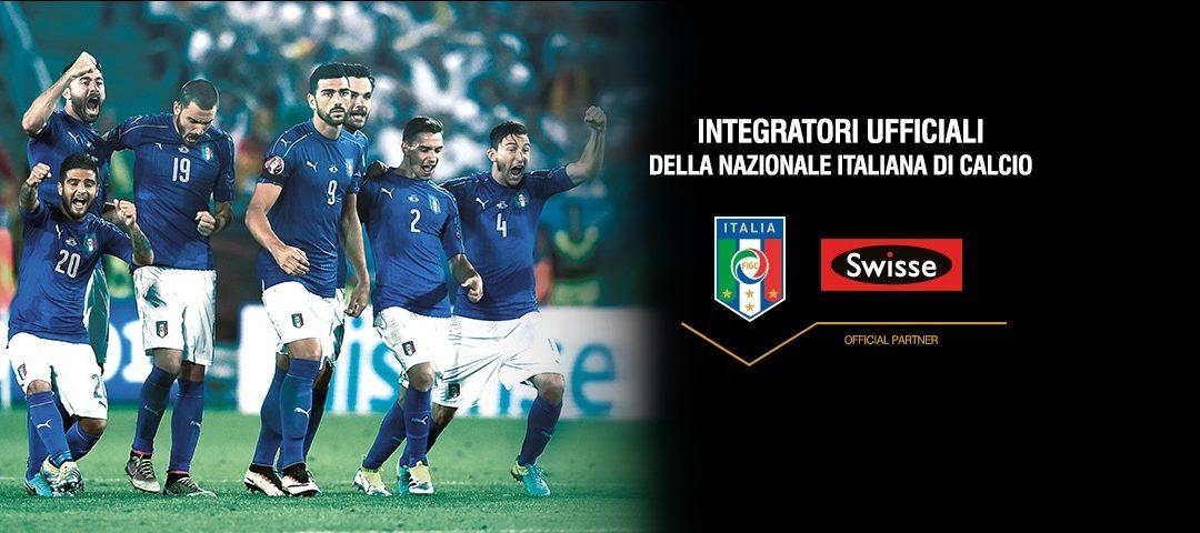INTEGRATORI SWISSE PER LA NAZIONALE ITALIANA